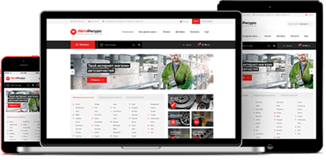 Веб-АвтоРесурс  платформа для создания интернет магазин автозапчастей 1166ef666fa